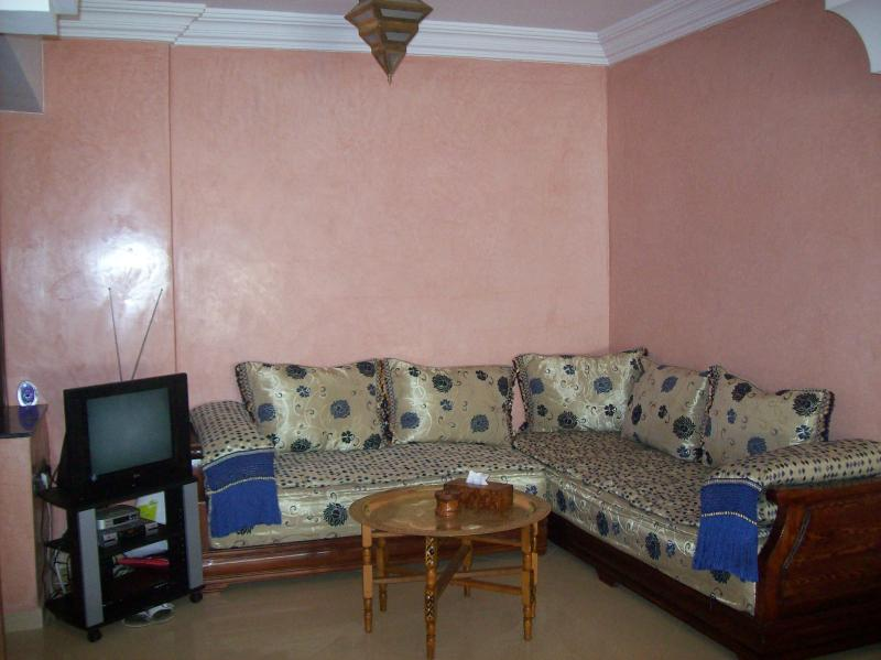 Moroccan Seating  TV/DVD Area