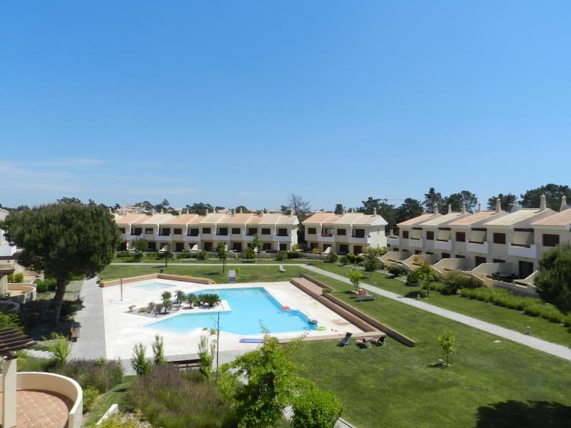 Wonderful location overlooking landscaped gardens and two pools