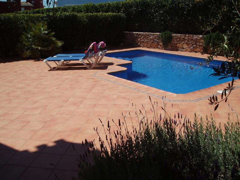 Casa Jenella boasts a large patioed area to sun bathe and for your BBQ.