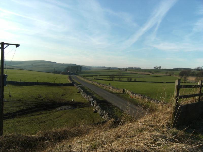 Paisaje de Derbyshire