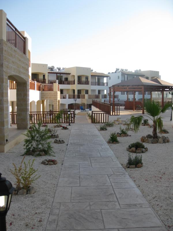View into our complex