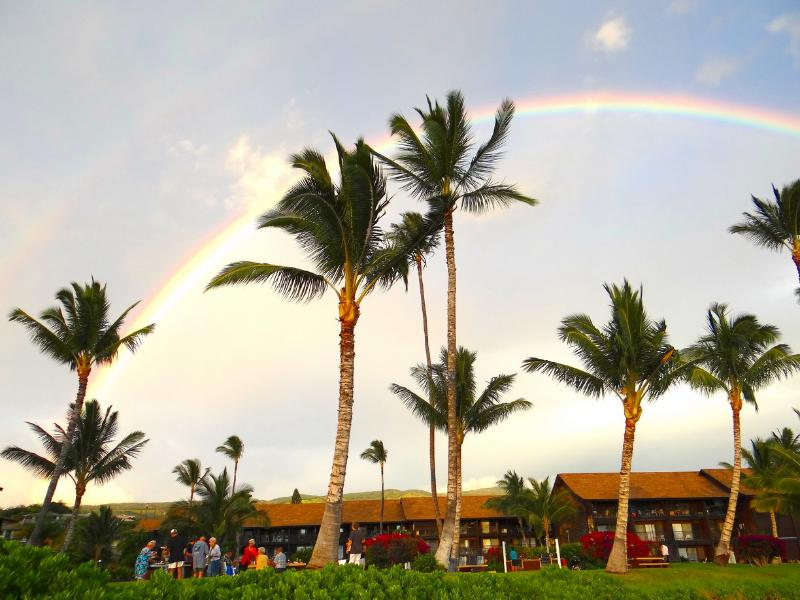 Rainbow over Molokai Shores