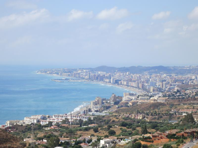 Panoramic View - Coast to Fuengirola from the Pool