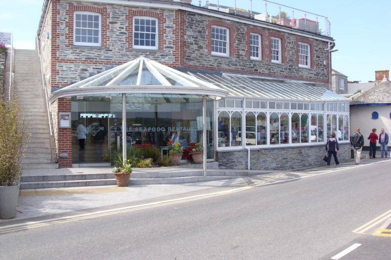 Restaurante de comida do mar famoso Rick Steins, Padstow