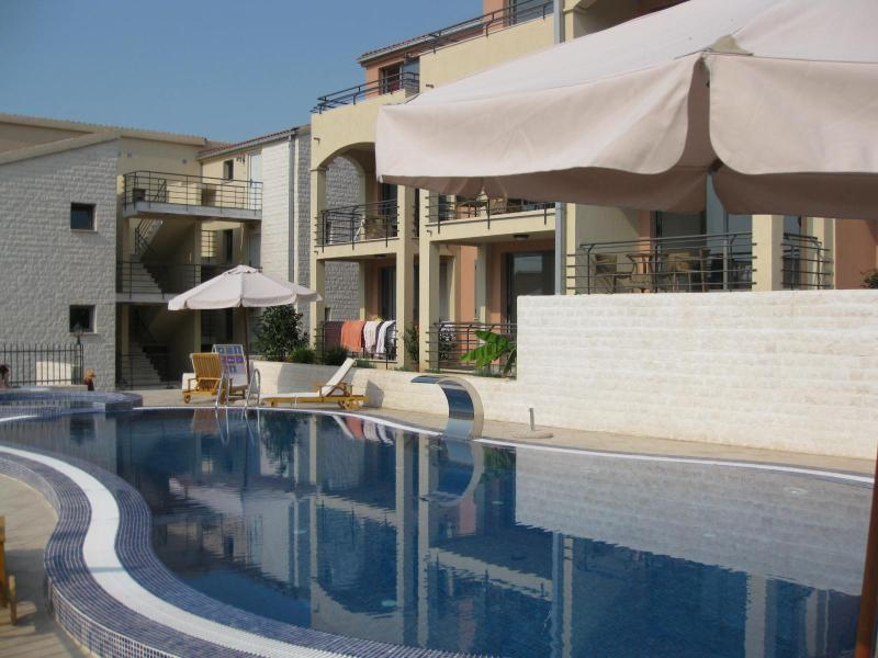 Main Swimming Pool - 20 metres from the apartment!, with separate children's pool