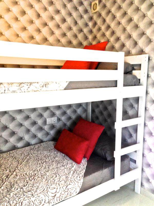 2nd Separate bedroom with bunk beds
