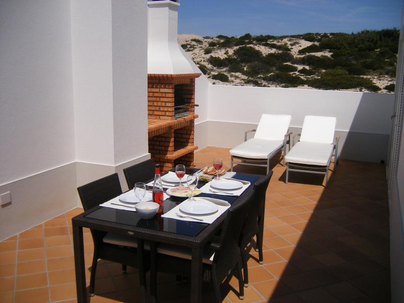 Large Private Terrace with BBQ