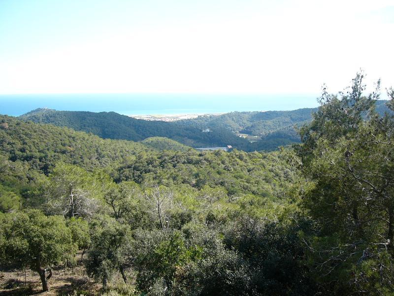 Vue depuis la propriété, entourée de montagnes merveilleuses
