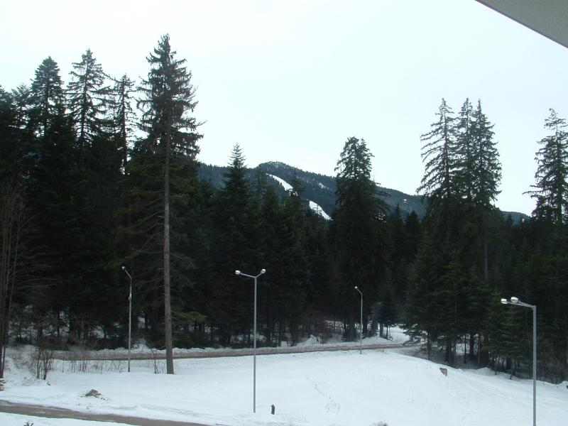 View from Apartment (Yastrebets 1 Piste)