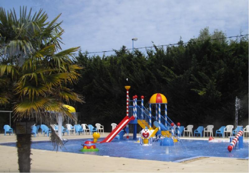 Children's new pool on site
