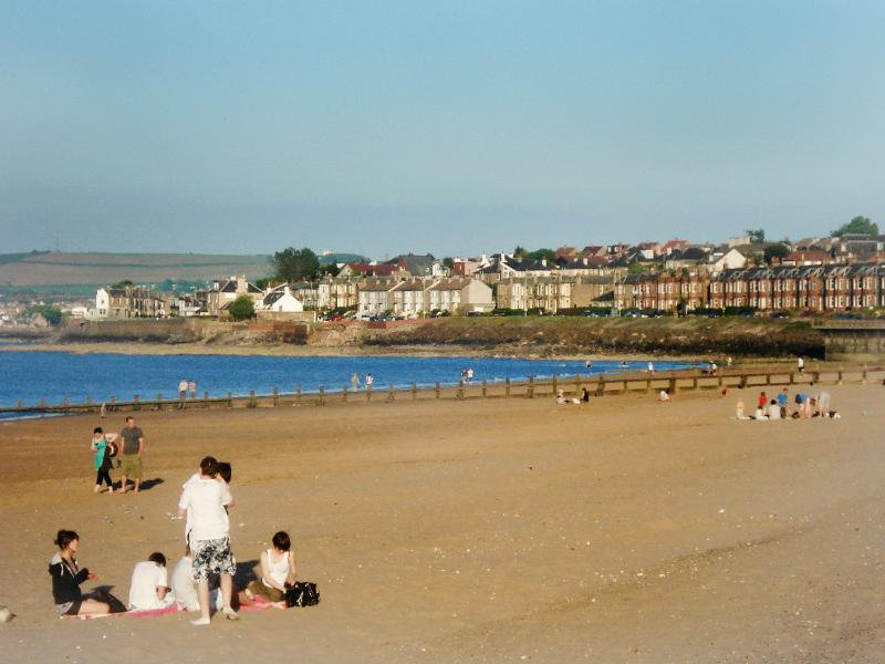 Portobello Beach,  within walking distance 20min  (approx 1mile)