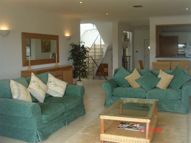 Large open plan Living Room area with TV DVD Music and WI FI