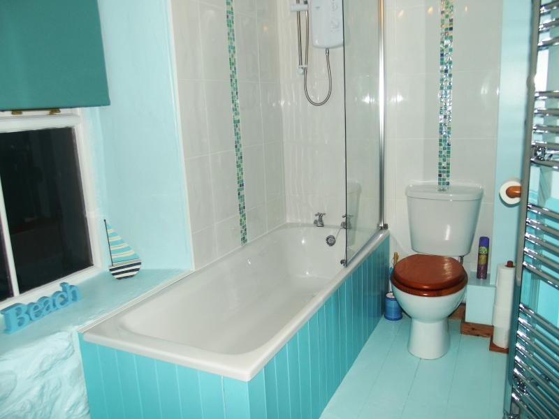 New Bathroom with fresh seaside appeal