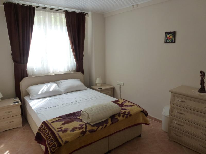 Bedroom 4 - Ground Floor.  Double Bed & Air-Conditioned.  WC & Shower opposite
