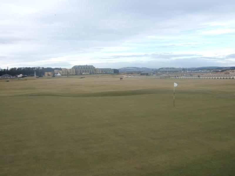 The famous 18th at the Old Course St.Andrews