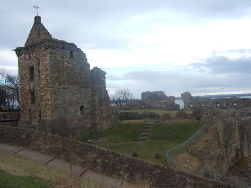 St.Andrews historic Castle