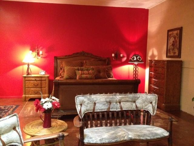 Comfortable king size bed, dining room, fireplace, kitchen, all the amenities of home
