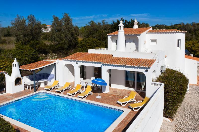 Casa Felicidade aerial view