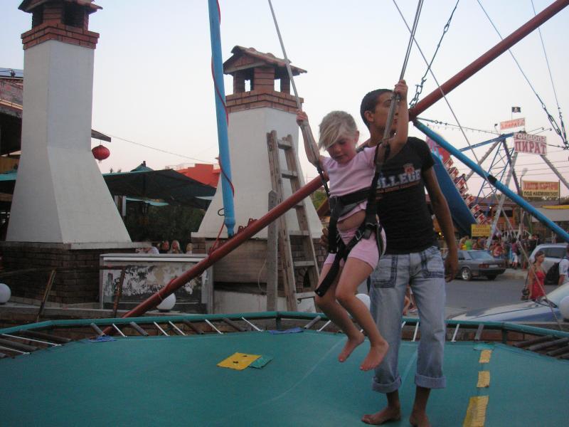 Ravda trampoline and fun fair