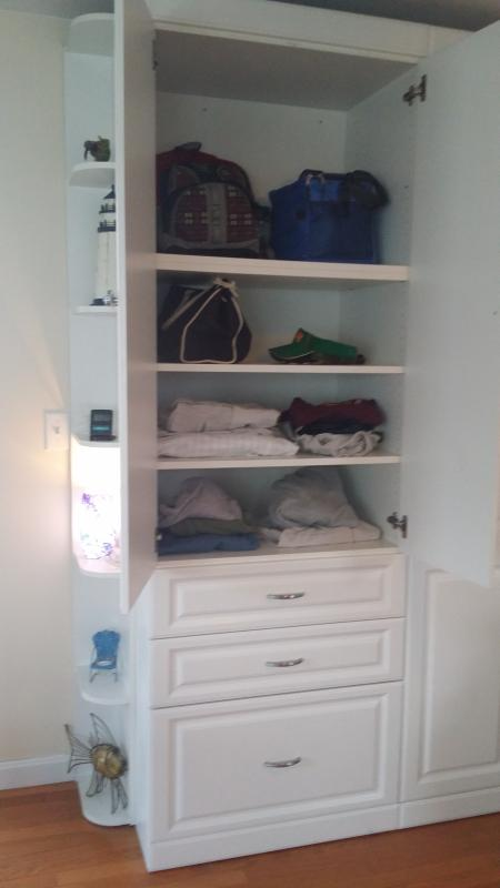 And more closet space