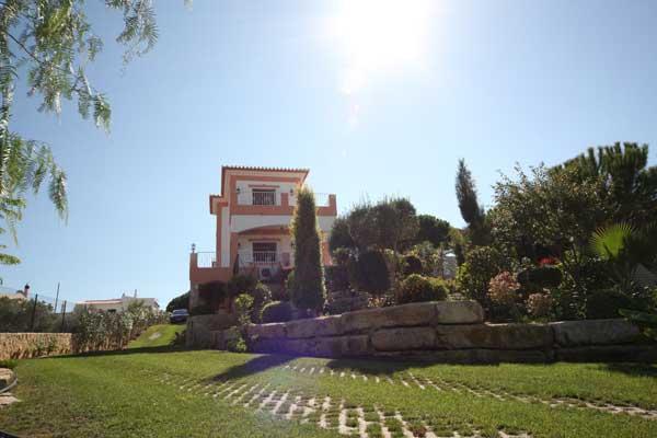 Hinteren Teil der villa