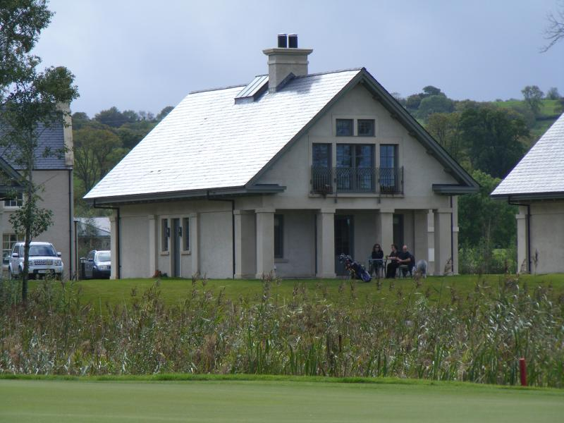 View of house from the 5th  green