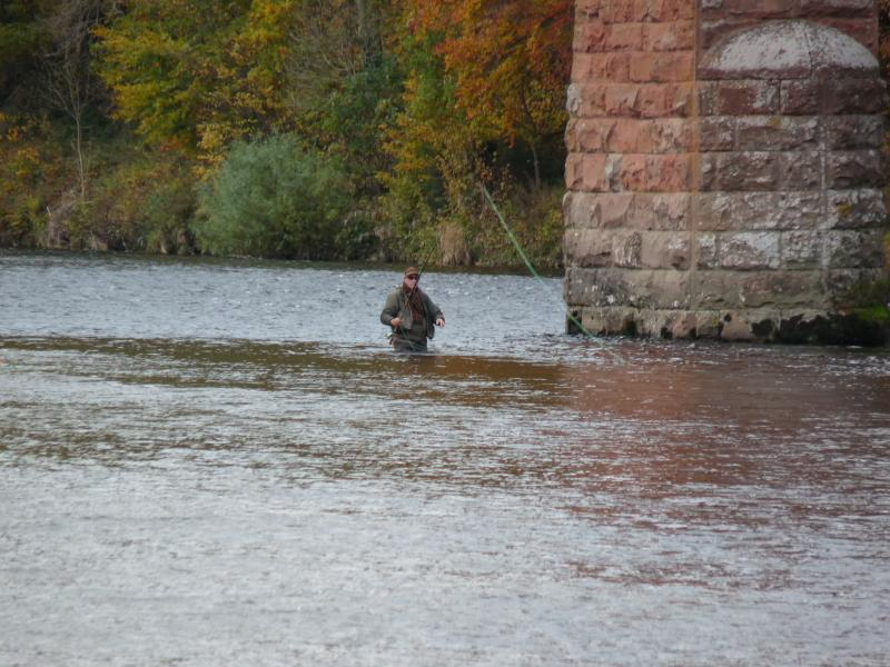 World-renowned fly fishing on the River Tweed