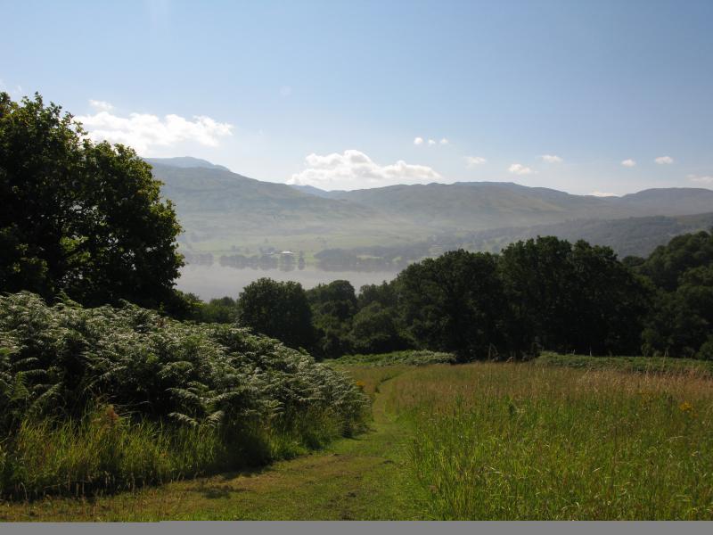 Path to Loch Tay