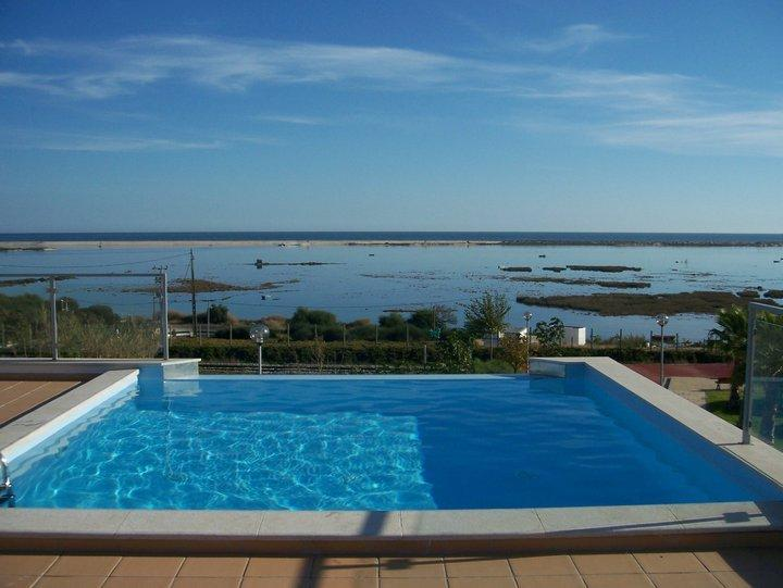 Pool with a stunning view for 2 bedroom apartment, Fuseta, East Algarve, Portugal