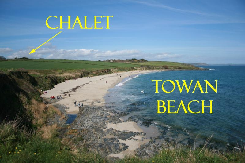 Towan Beach Chalet, vacation rental in Trewithian