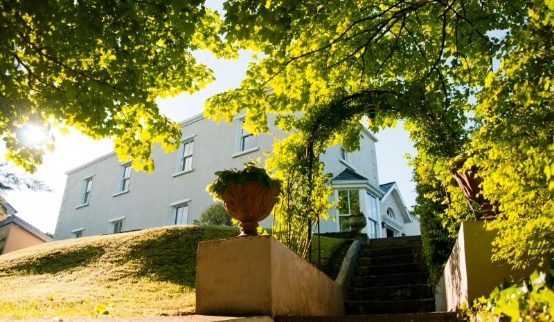 Steps down onto Church Hill - 2 mins walk to the town square. 3 mins to private leisure centre