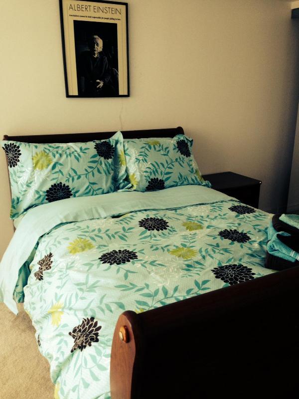 Comfortable Double Bed Sleeps Two