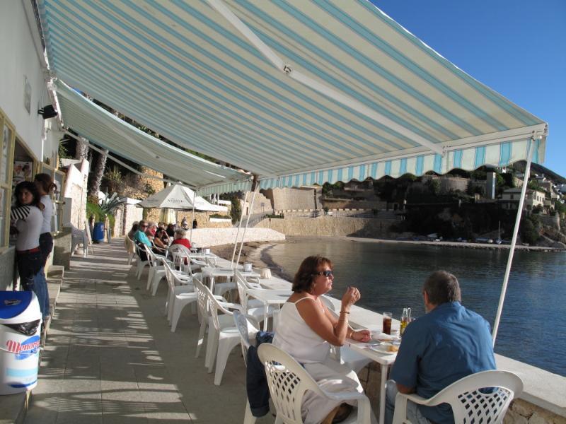 Bar at El Portet