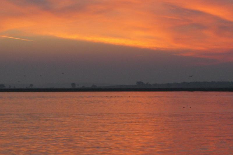 Sunset over Ayamonte