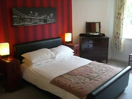The on suite bedroom of The Hall
