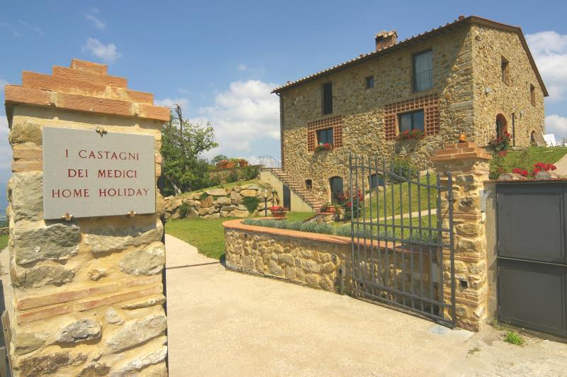 I CASTAGNI DEI MEDICI  LORENZO, holiday rental in Bivigliano