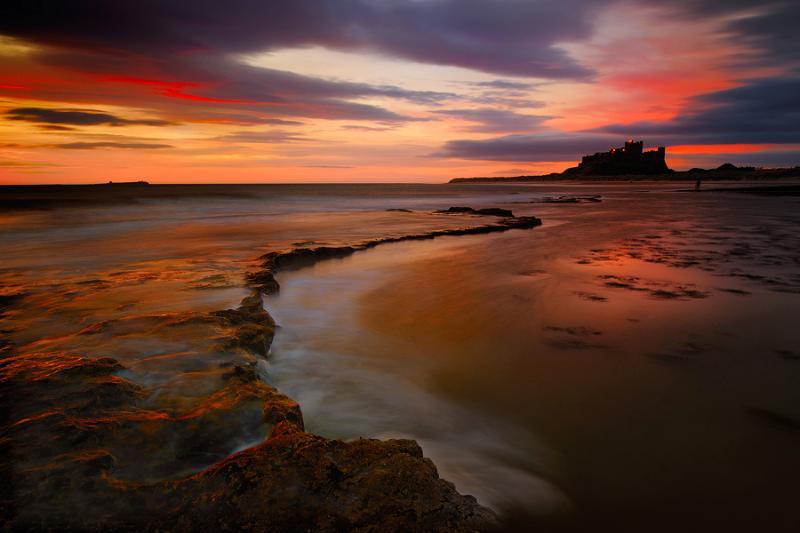 Northumberland Coastline - Bamburgh Castle