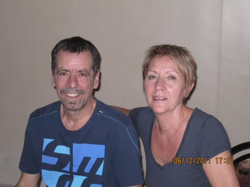 Andre & Therese - Our recent guest from Canada