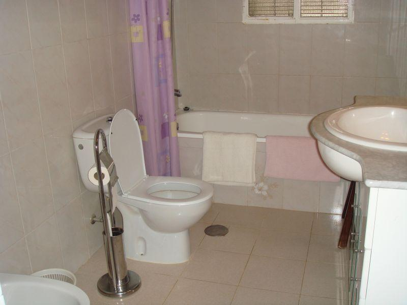 Fully fitted main family bathroom