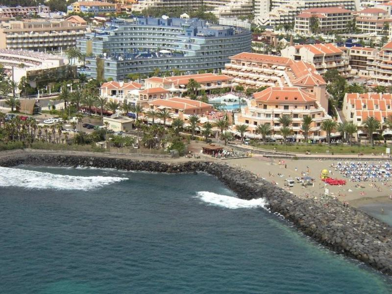 VIEW OF TENERIFE ROYAL GARDENS FROM THE AIR