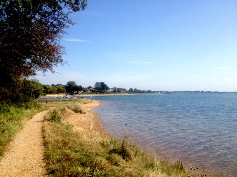 Our closest beach - The Emsworth Foreshore