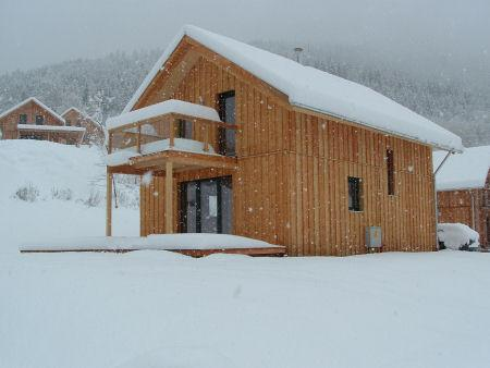 Chalet Alpenrose in the Winter