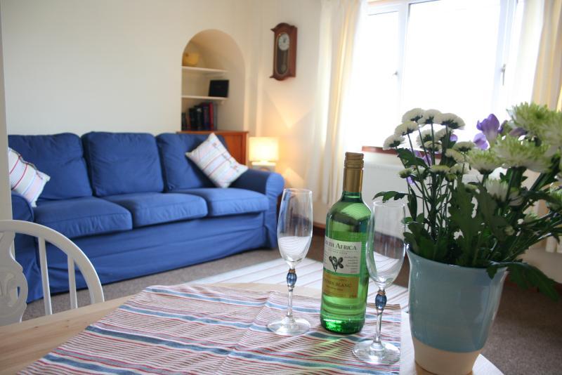 Lounge / Dining Area has a comfortable sofa