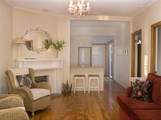 Comfortable but stylish living area