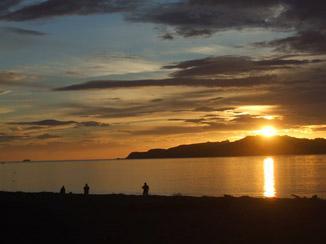O último do sol...