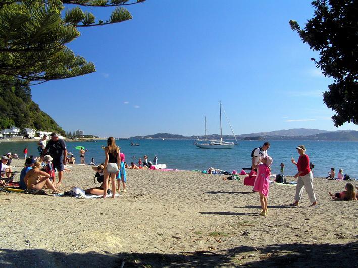 Dias Bay - apanhar o ferry para Wellington, leva apenas 20 minutos