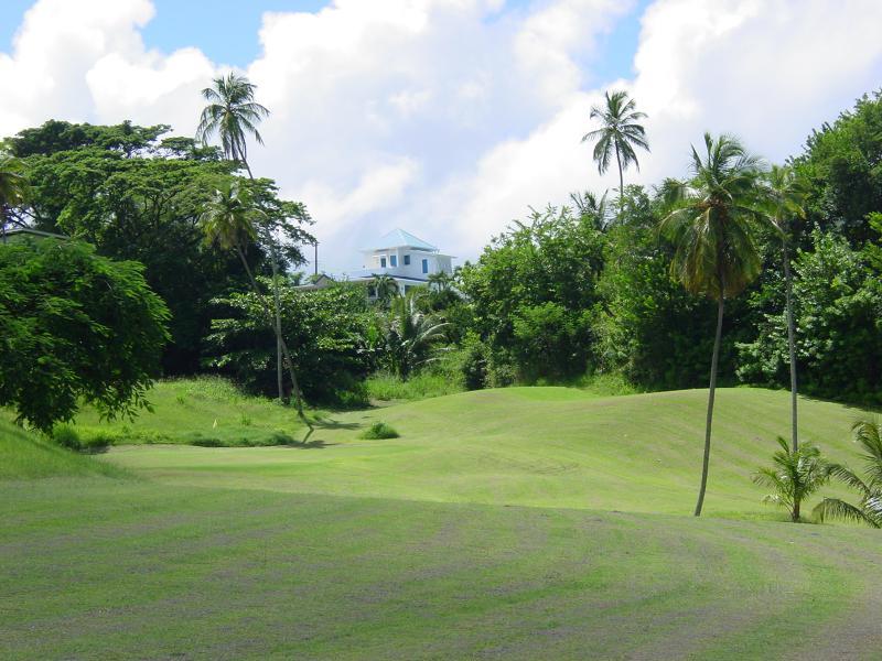 Villa as seen from Golf Course