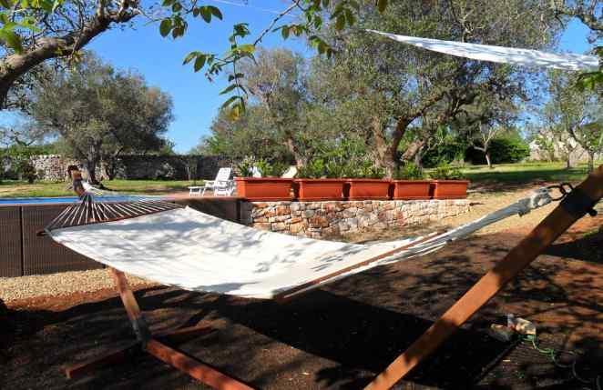 Área de piscina privada