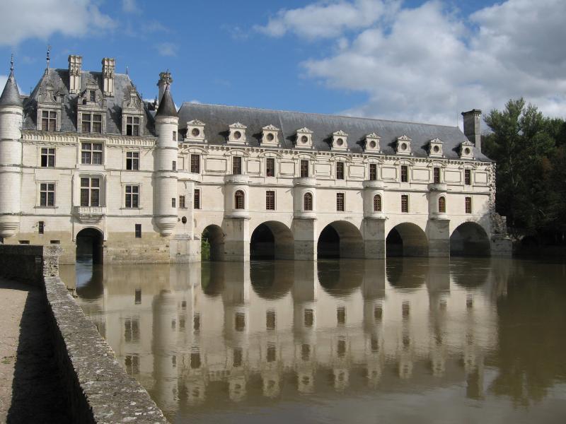 Chenenceaux - le château sur la rivière