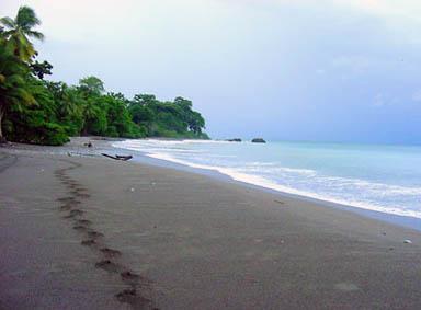 Beautiful Pan Dulce beach is often deserted